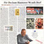 HAZ Artikel 08.08.2020 von Ole Rottmann