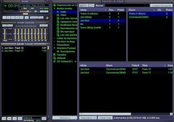 Audio Programme Winamp Player