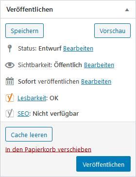 WordPress Beitrag erstellen / WordPress Webdesign Aligse